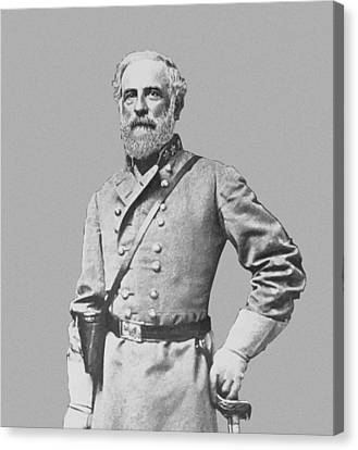 General Robert E Lee Canvas Print