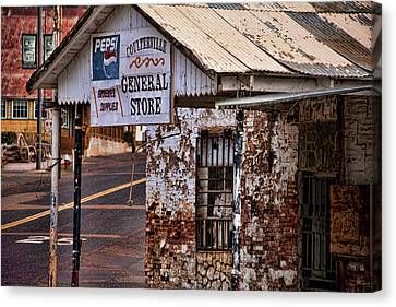General Store Canvas Print by Bonnie Bruno