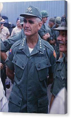 General William Westmoreland 1914-2005 Canvas Print by Everett