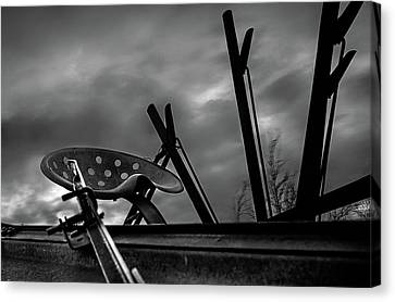 Harvester Canvas Print - Generations by Thomas Zimmerman