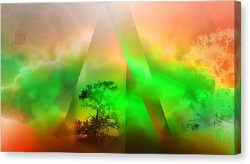 Genesis Canvas Print by Dan Turner