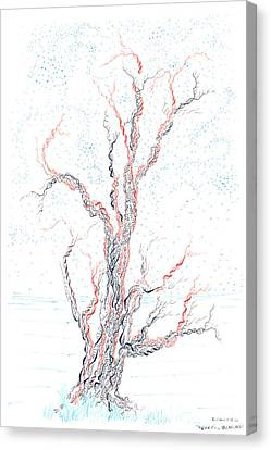 Genetic Branches Canvas Print