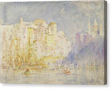 Genoa Canvas Print by Henry Scott Tuke