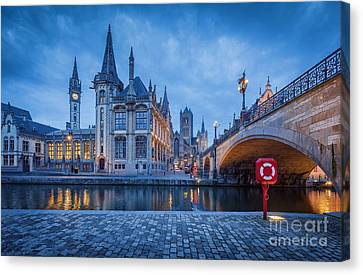 Gent Canvas Print by JR Photography