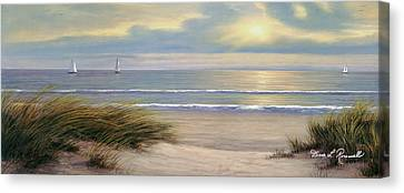 Gentle Breeze Panoramic Canvas Print