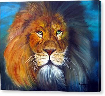 Gentle Lion King Canvas Print