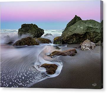 Gentle Waves Canvas Print