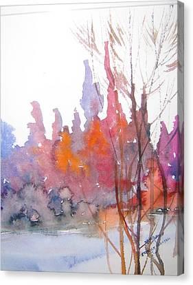 Gentle Woods Canvas Print