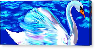 Gentleness And Grace. Canvas Print