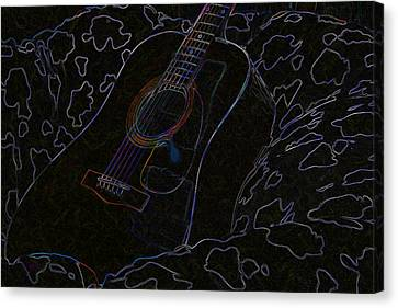 Gently Weeps Canvas Print by Holly Ethan