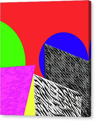 Geo Shapes 2 Canvas Print by Bruce Iorio