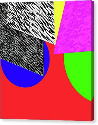 Geo Shapes 2a Canvas Print by Bruce Iorio