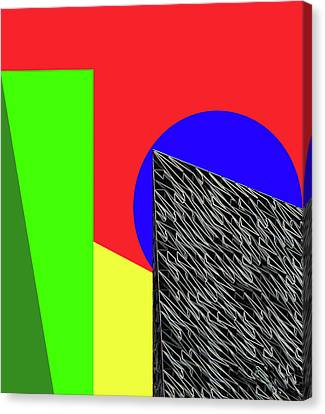 Geo Shapes 3 Canvas Print by Bruce Iorio