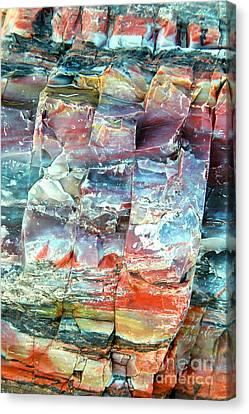 Geologist's Rainbow Canvas Print
