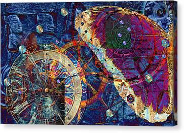 Geometria Sagrada Canvas Print