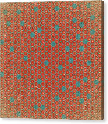 Canvas Print featuring the digital art Geometric 1 by Bonnie Bruno