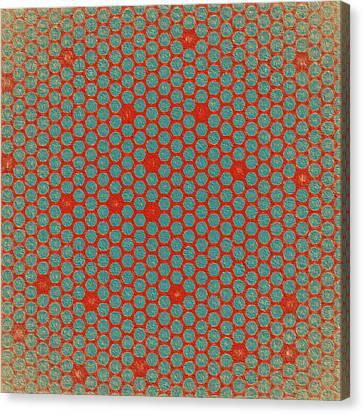 Canvas Print featuring the digital art Geometric 2 by Bonnie Bruno