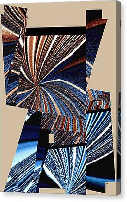 Canvas Print - Geometric Abstract 3 by Will Borden