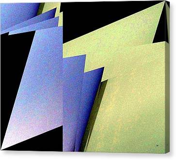 Canvas Print - Geometric Abstract 5 by Will Borden