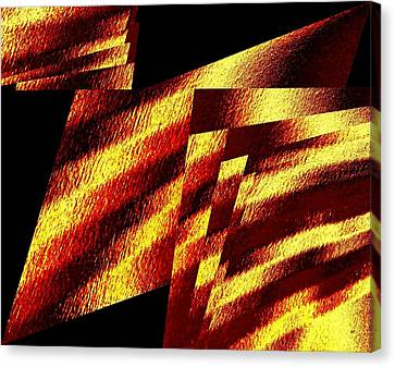 Canvas Print - Geometric Abstract 8 by Will Borden