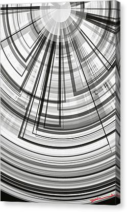 Geometric Abstract No.4 Canvas Print by Donald Lawrence