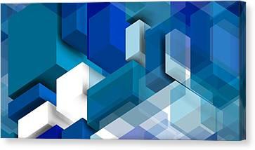Abstract Composition  Canvas Print by Alberto RuiZ