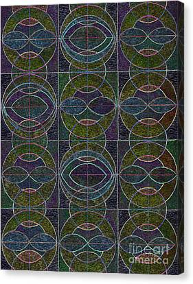 Appleton Canvas Print - Geometric Harmony by Norma Appleton