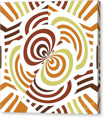 Geometric Infinity Canvas Print