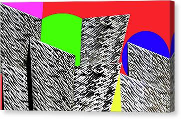 Geometric Shapes 3 Canvas Print by Bruce Iorio