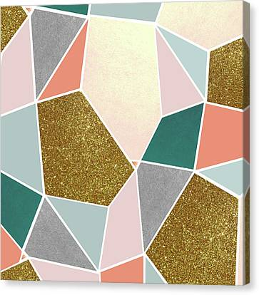 Geometric Canvas Print by Uma Gokhale