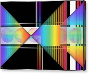 Geometrically Speaking Canvas Print by Sue Gardiner