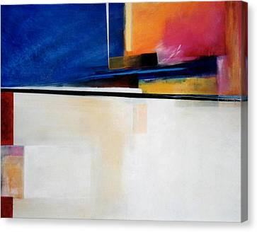 Geometrics 4 Lights Out Canvas Print by Marlene Burns
