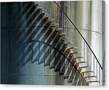 Canvas Print featuring the photograph Geometrics by Richard George