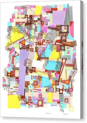 Geometries Canvas Print
