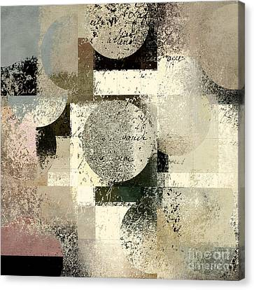 Abstract Art Canvas Print - Geomix - C133et02b by Variance Collections