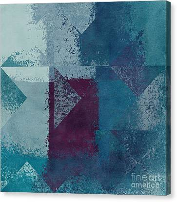 Shape Canvas Print - Geomix 03 - S122bt2a by Variance Collections