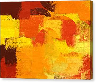 Geomix 05 - 01at01 Canvas Print by Variance Collections
