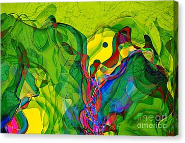 Geomox - 23 Canvas Print by Variance Collections