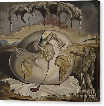 Dali's Geopolitical Child Canvas Print