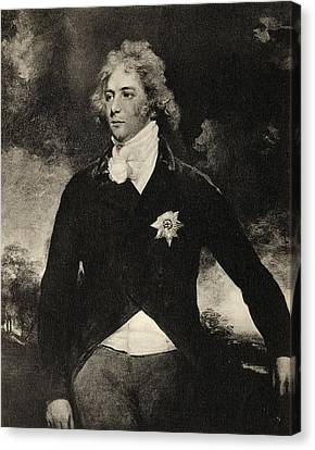 George Augustus Frederick The Prince Of Canvas Print