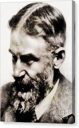 George Bernard Shaw, Literary Legend Canvas Print by John Springfield