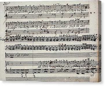 George Frederick Handel Canvas Print by Granger