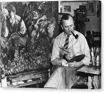 George Grosz (1893-1959) Canvas Print