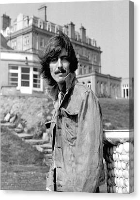 George Harrison Beatles Magical Mystery Tour Canvas Print by Chris Walter