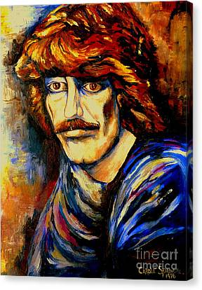 George Harrison Canvas Print by Carole Spandau