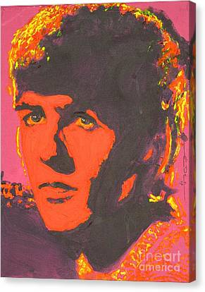 George Harrison Canvas Print by Eric Dee
