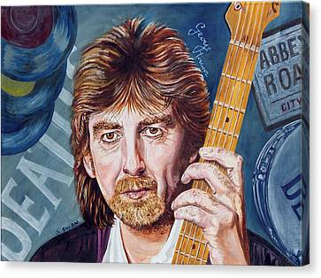 George Harrison Canvas Print by Graham Swan