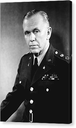 George Marshall Canvas Print by War Is Hell Store