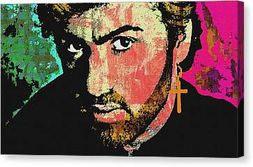 Michael Canvas Print - George Michael by Otis Porritt