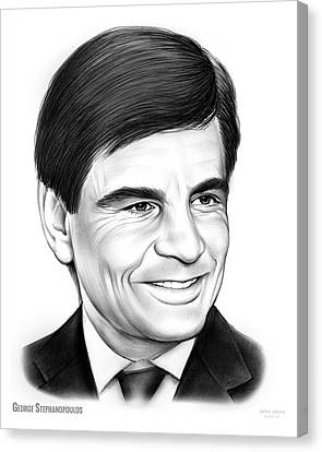 George Stephanopoulos Canvas Print